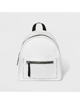 Contrast Trim Mini Backpack   Wild Fable™ White by Shop All Wild Fable™