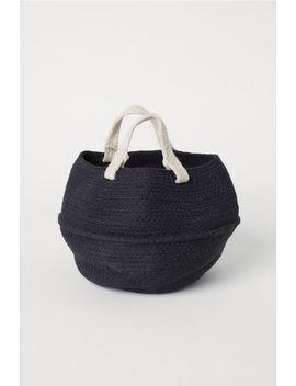 Collapsible Jute Basket by H&M