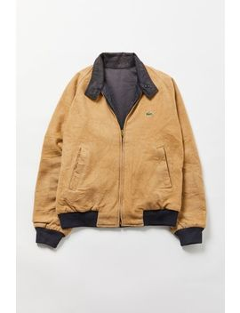 Vintage Lacoste Reversible Tan Jacket by Urban Renewal