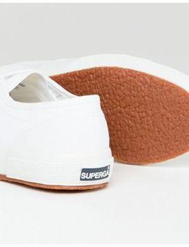 Superga 2750 – Klassische Leinen Sneaker In Weiß by Superga