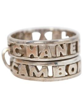 Silver Ring by Chanel