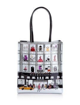 Small Store Front Tote   100 Percents Exclusive by Bloomingdale's