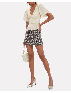 Printed Mini Skirt by Missoni