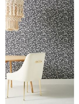 Amorina Leaf Wallpaper by Anthropologie