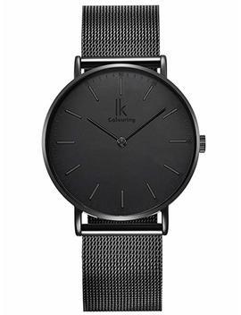 Alienwork Ik Herren /Damen Uhr Ø 36mm Mit Milanaise Armband by