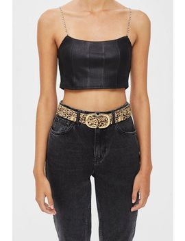Pony Buckle Belt by Topshop