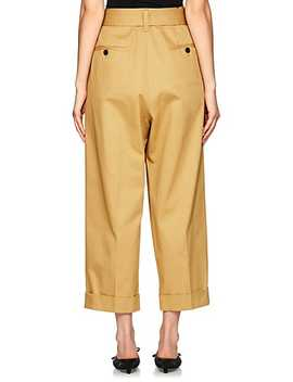 Cotton Wide Leg Trousers by Marc Jacobs