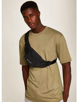 Nicce Black Nylon Cross Body Bag by Topman