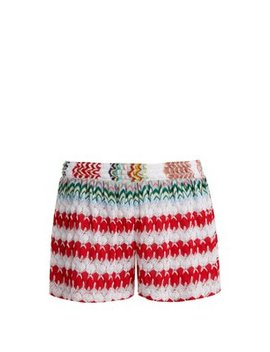 High Waist Knit Shorts by Missoni Mare