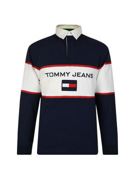 90 S Rugby Shirt by Tommy Jeans