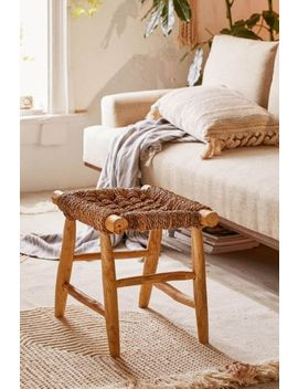 Elle Woven Stool by Urban Outfitters