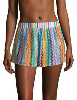 Multicolor Swirly Shorts by Missoni Mare