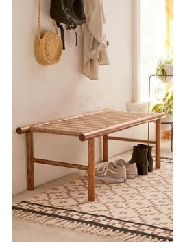Woven Bench by Urban Outfitters
