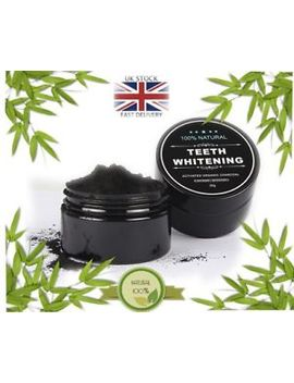 Activated Charcoal Powder Natural Organic Black Teeth Whitening Toothpaste by Ebay Seller