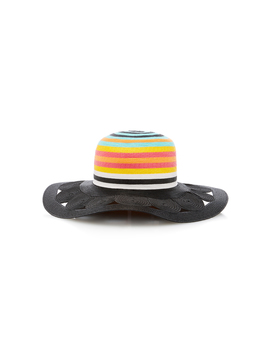Striped Woven Sunhat by Missoni Mare