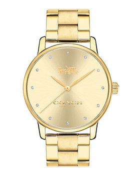 Women's Grand Gold Tone Stainless Steel Bracelet Watch 36mm by Coach