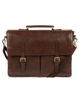 Made By Stitch   Malt 'lorton' Handmade Leather Briefcase by Made By Stitch