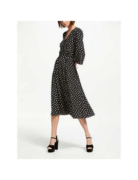 Somerset By Alice Temperley Acorn Midi Dress, Black by Somerset By Alice Temperley