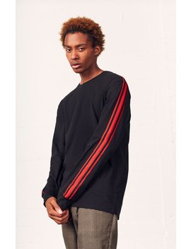 Rab Stripe Relaxed Long Sleeve T Shirt by Pac Sun