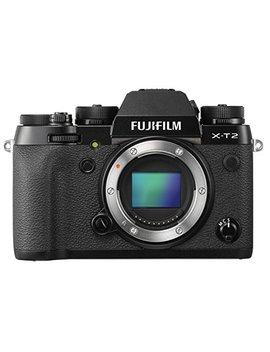 Fujifilm X T2 Systemkamera Nur Gehäuse (24,3 Megapixel) Schwarz by Amazon