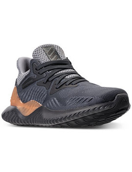Big Boys' Alpha Bounce Beyond Running Sneakers From Finish Line by Adidas