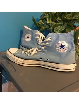 Baby Blue Converse by Converse