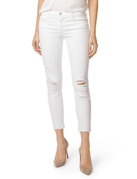 9326 Low Rise Crop Skinny Jeans by J Brand
