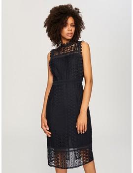 Ажурное платье в стиле ретро by Reserved