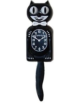 Kitty Cat Klock (Classic Black) by Kit Cat Klock