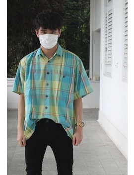 Vintage Pastel Checkered Shirt by Higher Vintage