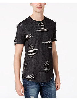 Men's Basement Graphic T Shirt by Guess