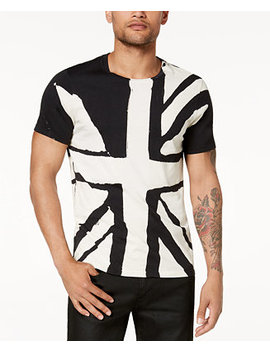 Men's Graphic Print T Shirt by Guess
