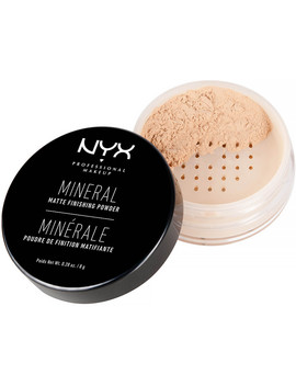 Mineral ''set It & Don't Fret It'' Matte Finishing Powder by Nyx Professional Makeup