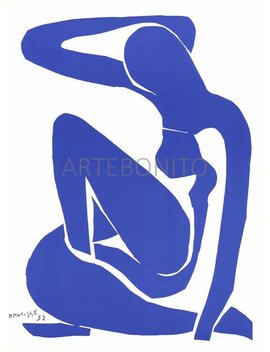 "Henri Matisse ""Nu Bleu 1""  Printed In 1983  F by Artebonito"