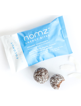 Nomz Coconut Energy Bites by Well
