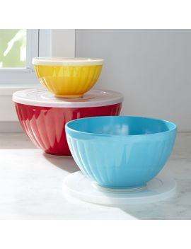Prep & Store Bowls, Set Of 3 by Crate&Barrel
