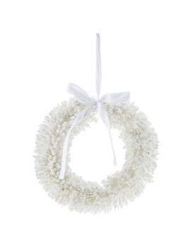 White Berry Wreath by Hobby Lobby