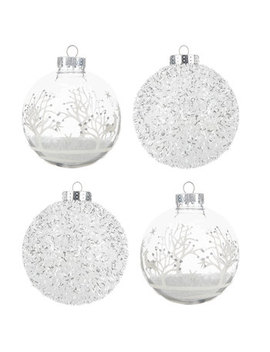 Glitter & Scenes Ball Ornaments by Hobby Lobby