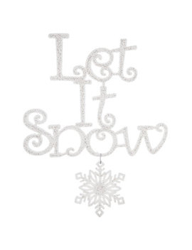 Let It Snow Ornament by Hobby Lobby