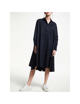 Kin By John Lewis Circle Shirt Dress, Navy by Kin By John Lewis