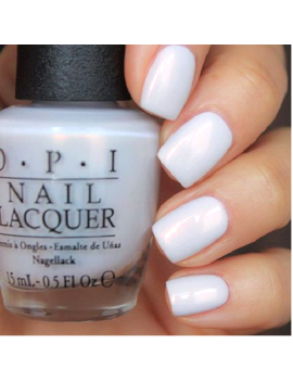Opi Alice Oh My Majesty White Alabaster Pearl French Nail Polish Lacquer Ba2 by Opi