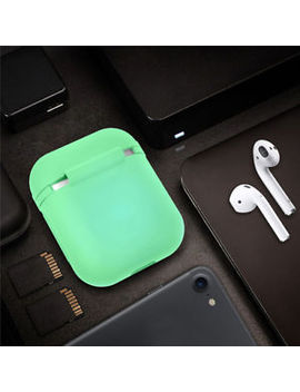 Amazing Glowing In Dark Air Pods Silicone Case Cover Protective For Apple Airpod by Tendway