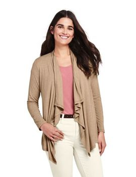 Women's Cascade Knit Cardigan by Lands' End