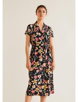 Vestido Vintage às Flores by Mango