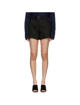 Black Lora Shorts by Rag & Bone