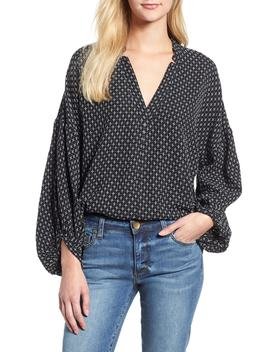 Pickstitched Poet Blouse by Lou & Grey
