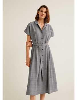 Vestido Quadrados Vichy by Mango