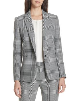 Jemaromina Glen Plaid Suit Jacket by Boss
