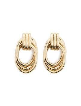 Door Knocker Inspired Drop Earrings by Forever 21