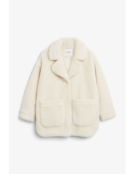 Fluffy Coat by Monki